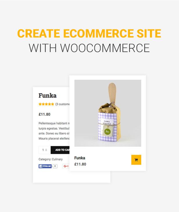 Education WordPress theme - Woocommerce support