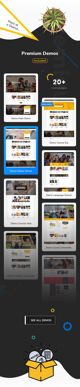 Education WordPress theme - Premium demos included